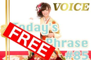 voice-todays-japanese-phrase-85-learn-japanese-online-how-to-speak-japanese-language-for-beginners-basic-study-in-japan